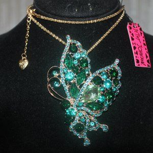 Nwt: Hi I'm Candy, Butterfly 🦋 Necklace & Brooch